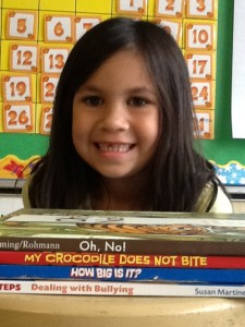 Oh no! My crocodile does not bite. How big is it? Dealing with bullying.
